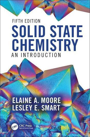 Solid State Chemistry An Introduction book cover