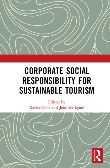 Corporate Social Responsibility for Sustainable Tourism book cover