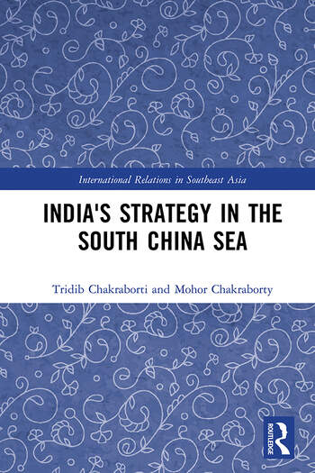 India's Strategy in the South China Sea book cover
