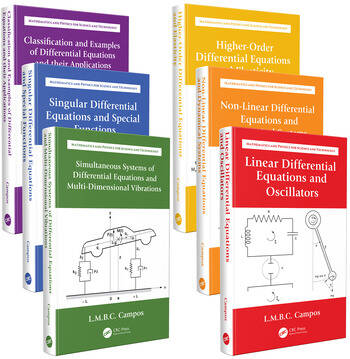 Ordinary Differential Equations with Applications to Trajectories and Vibrations, Six-Volume Set book cover