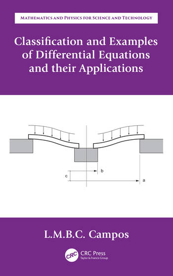 Classification and Examples of Differential Equations and their Applications book cover