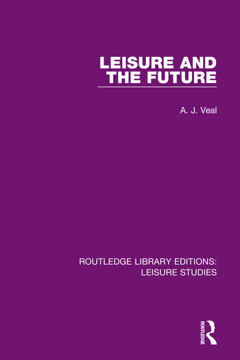 Leisure and the Future book cover