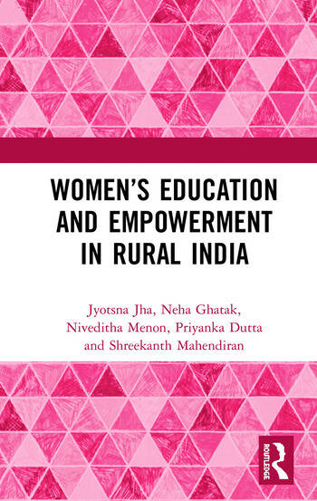 Women's Education and Empowerment in Rural India book cover