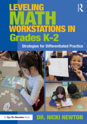 Leveling Math Workstations in Grades K–2 Strategies for Differentiated Practice book cover
