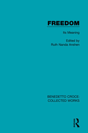 Freedom Its Meaning book cover