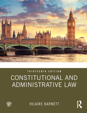 Constitutional and Administrative Law book cover