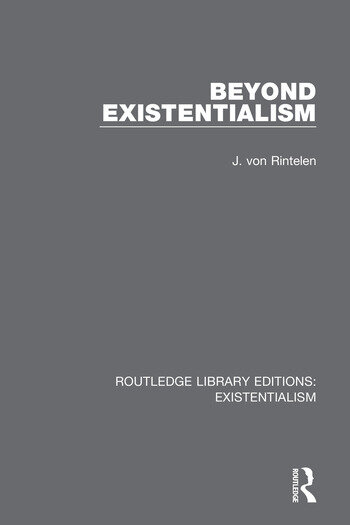 Beyond Existentialism book cover