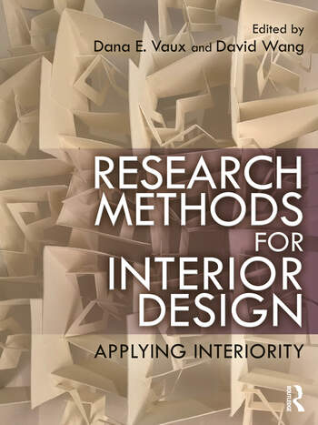Research Methods for Interior Design Applying Interiority book cover
