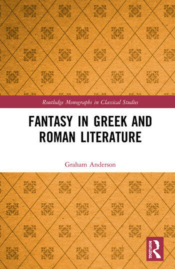 Fantasy in Greek and Roman Literature book cover