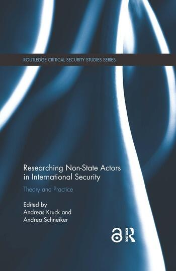 Researching Non-state Actors in International Security Theory and Practice book cover