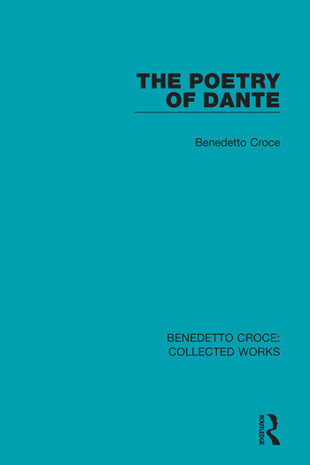 The Poetry of Dante book cover