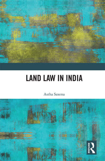 Land Law in India book cover