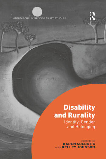 Disability and Rurality Identity, Gender and Belonging book cover
