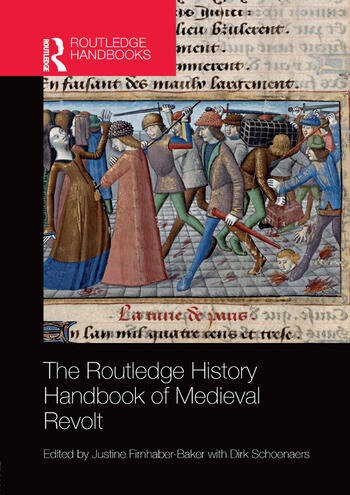 The Routledge History Handbook of Medieval Revolt book cover