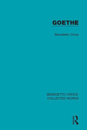 Goethe book cover