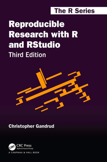 Reproducible Research with R and RStudio book cover