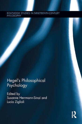 Hegel's Philosophical Psychology book cover