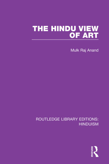 The Hindu View of Art book cover