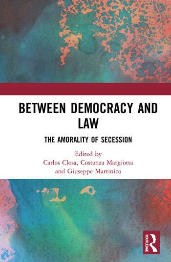 Between Democracy and Law The Amorality of Secession book cover