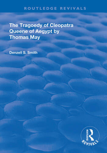 The Tragedy of Cleopatra Queene of Aegypt book cover