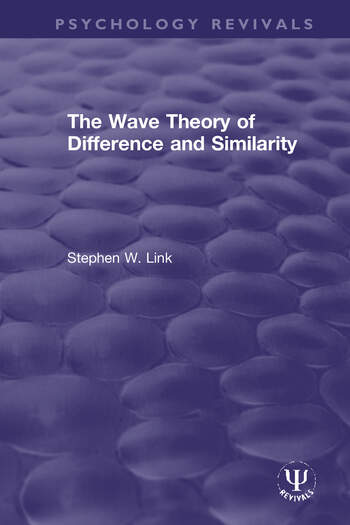 The Wave Theory of Difference and Similarity book cover