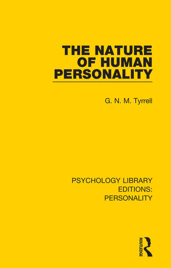 The Nature of Human Personality book cover