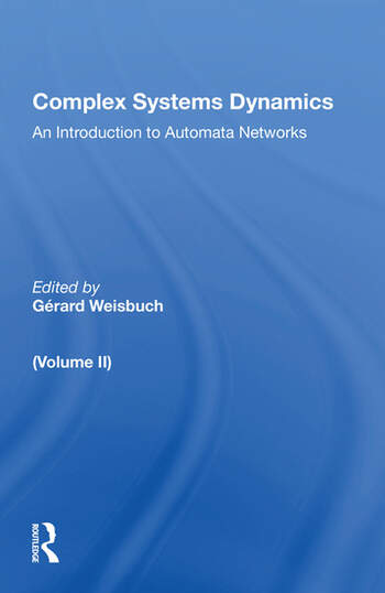 Complex Systems Dynamics (volume Ii) book cover
