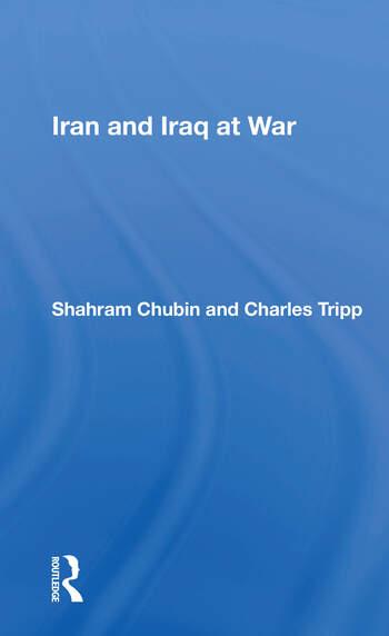 Iran And Iraq At War book cover
