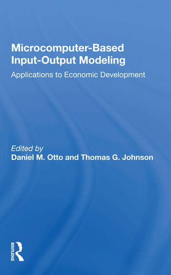 Microcomputer Based Input-output Modeling Applicatons To Economic Development book cover