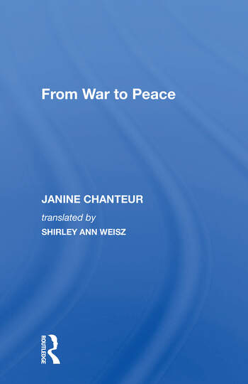 From War To Peace book cover