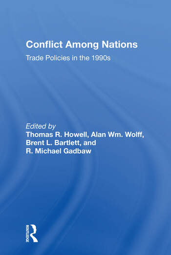 Conflict Among Nations Trade Policies In The 1990s book cover