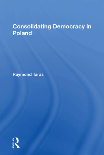 Consolidating Democracy In Poland book cover