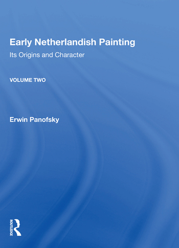 Early Netherlandish Painting, Volume 2 book cover