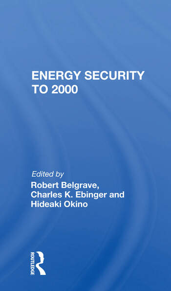 Energy Security To 2000 book cover