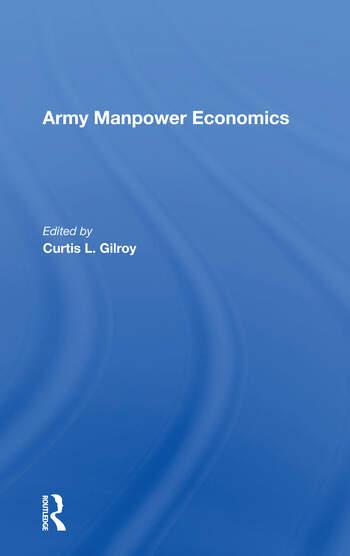 Army Manpower Economics book cover