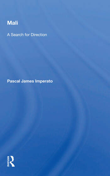 Mali A Search For Direction book cover