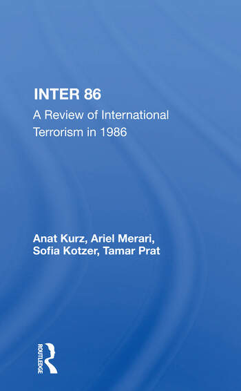 Inter 86 A Review Of International Terrorism In 1986 book cover