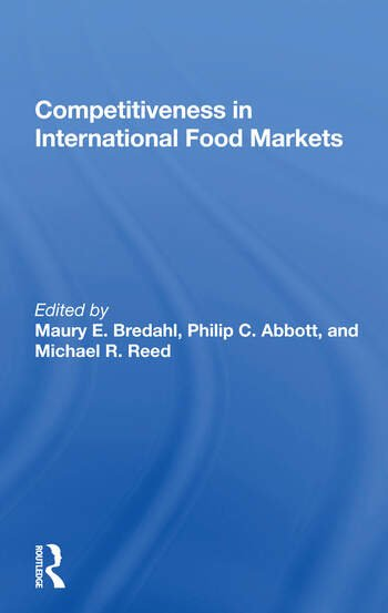 Competitiveness In International Food Markets book cover