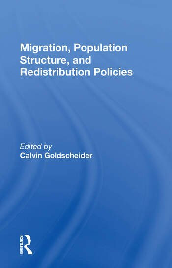 Migration, Population Structure, And Redistribution Policies book cover