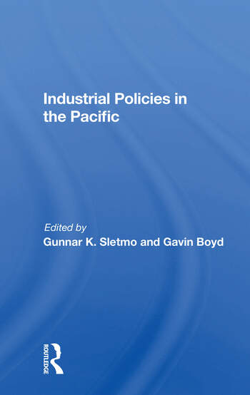 Industrial Policies In The Pacific book cover