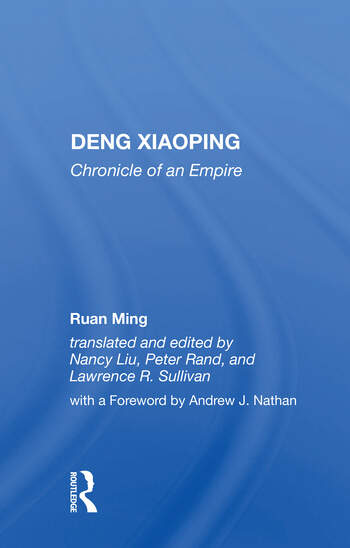 Deng Xiaoping Chronicle Of An Empire book cover