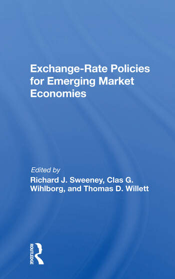 Exchange-rate Policies For Emerging Market Economies book cover
