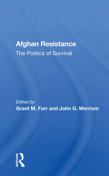 Afghan Resistance The Politics Of Surivival book cover