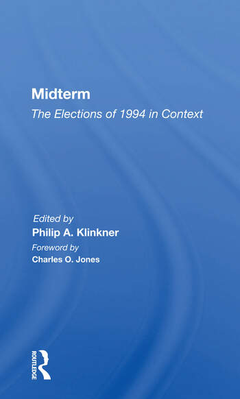 Midterm The Elections Of 1994 In Context book cover