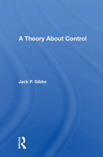 A Theory About Control book cover