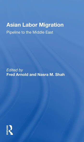 Asian Labor Migration Pipeline To The Middle East book cover