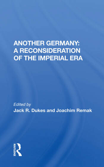 Another Germany A Reconsideration Of The Imperial Era book cover