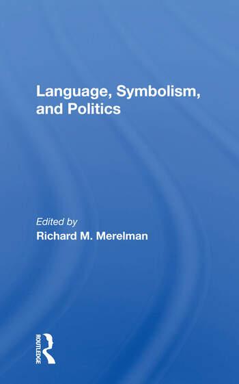 Language, Symbolism, And Politics book cover