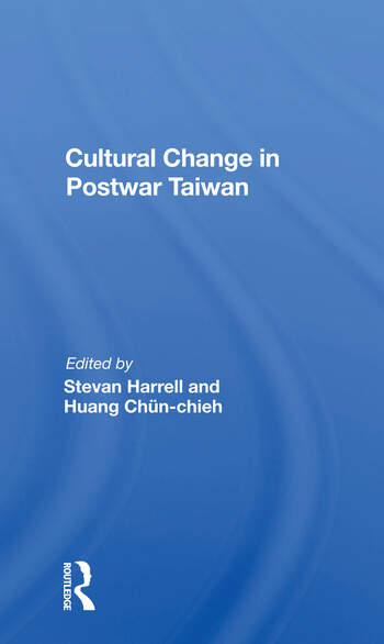 Cultural Change In Postwar Taiwan book cover