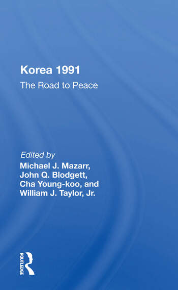 Korea 1991 The Road To Peace book cover
